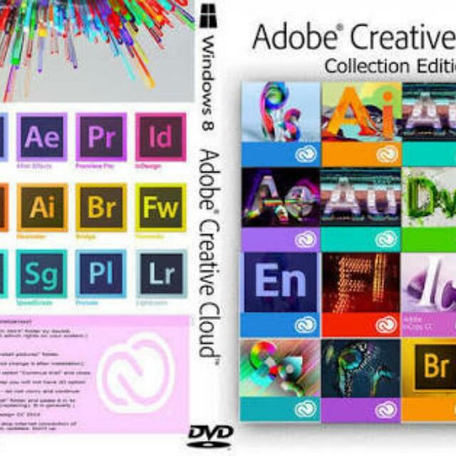 Adobe CC & CS6 MASTERCOLLECTION