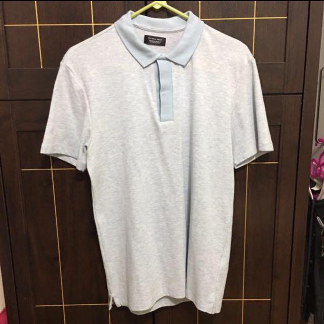 Authentic Zara Man Polo Shirt Size Medium