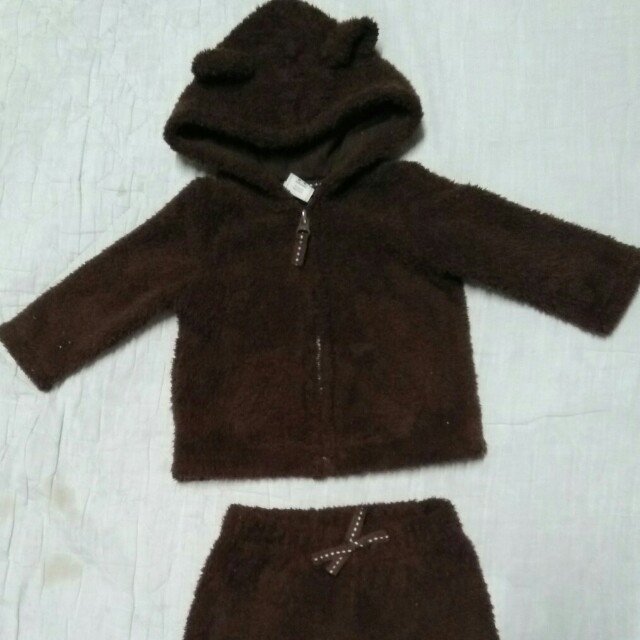 76859b7d6c95 Baby Teddy Jacket and Pants (Old Navy)