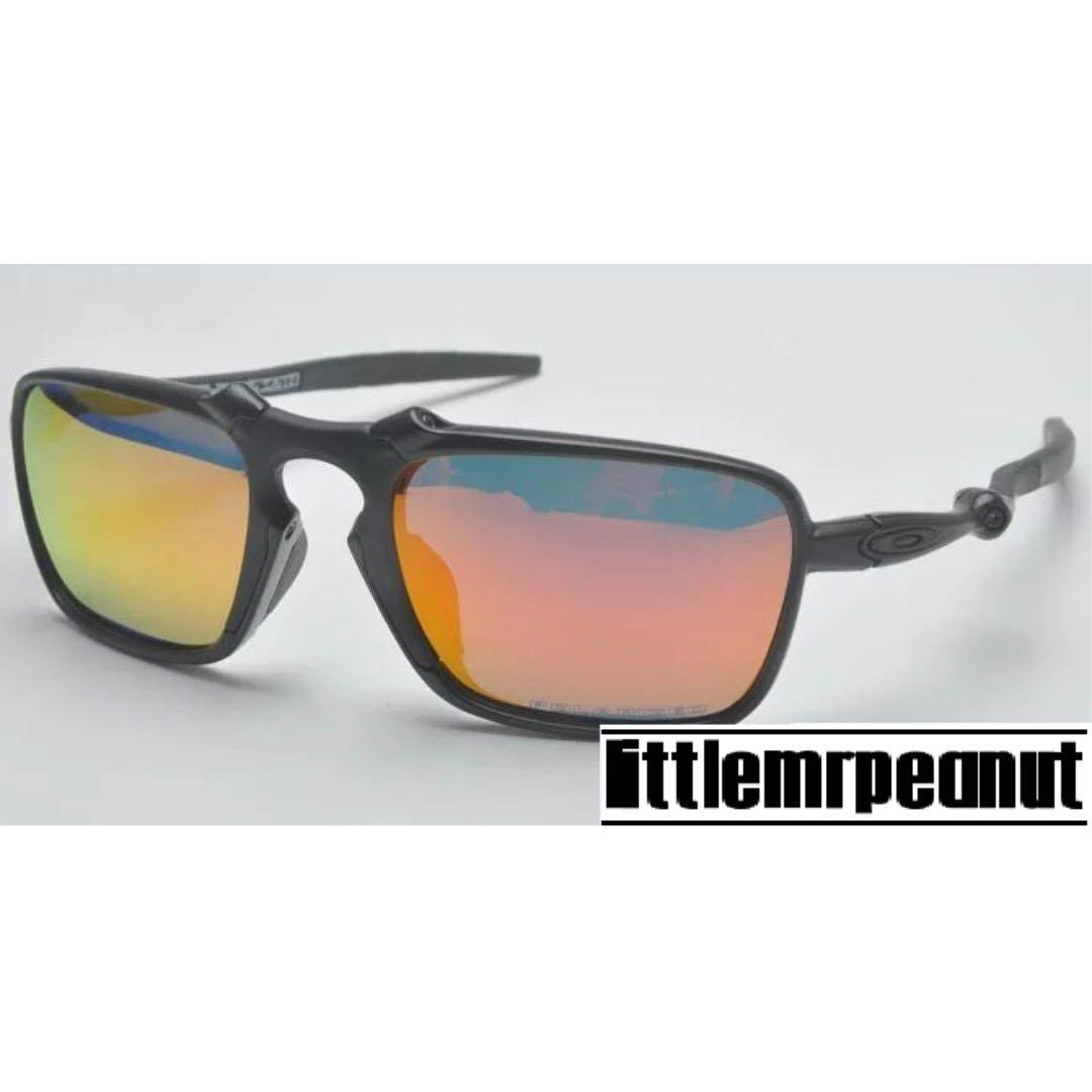 637a2001f24fb BADMAN Polarized Metal Sunglasses Oakley