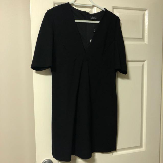 Bardot black dress size 14
