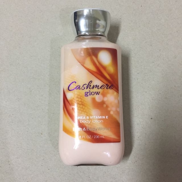 bath and body cashmere glow