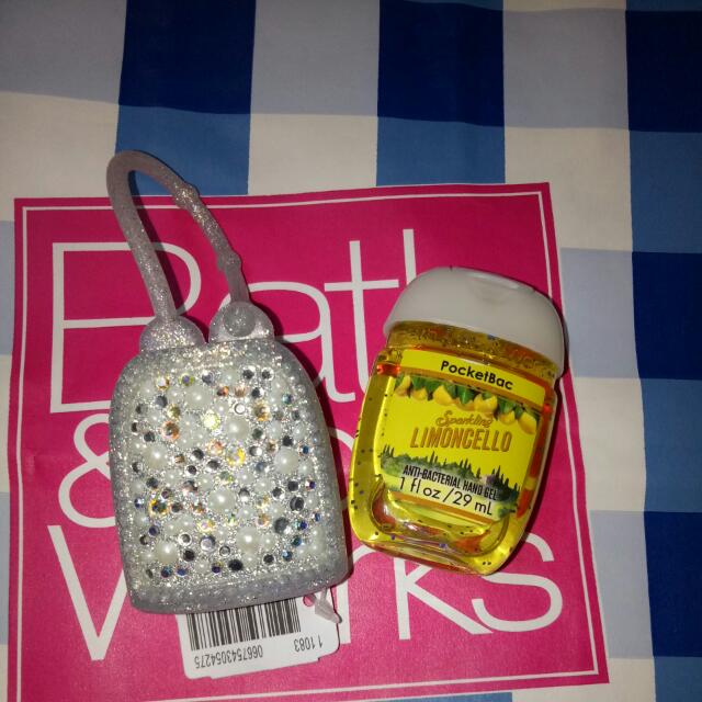 Bath And Body Works PocketBac W/ Holder