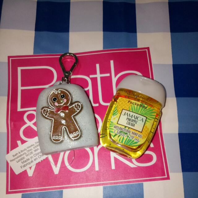 Bath And Body Works PocketBac W/bag Holder