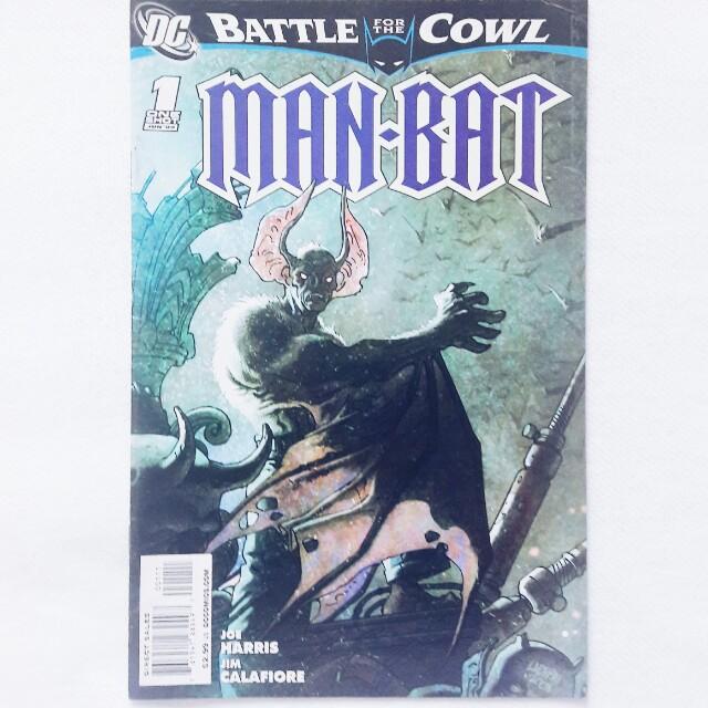 Battle for the Cowl: Man-Bat