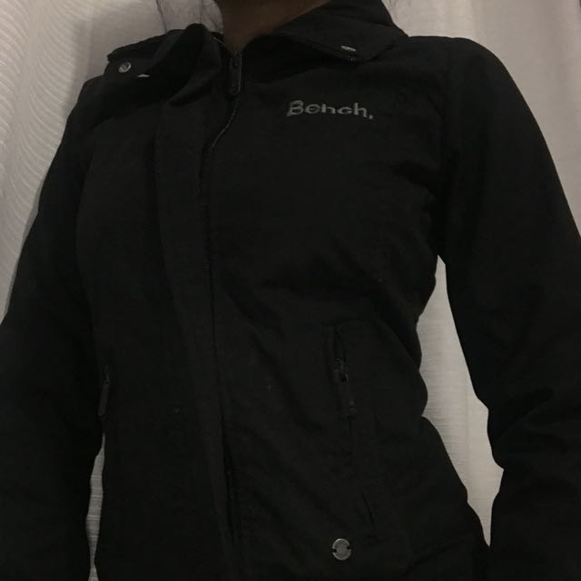 BENCH FITTED BLACK JACKET