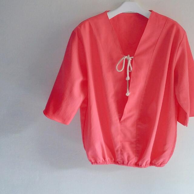 Blouse Korea Female Feminine Style Fit to XL