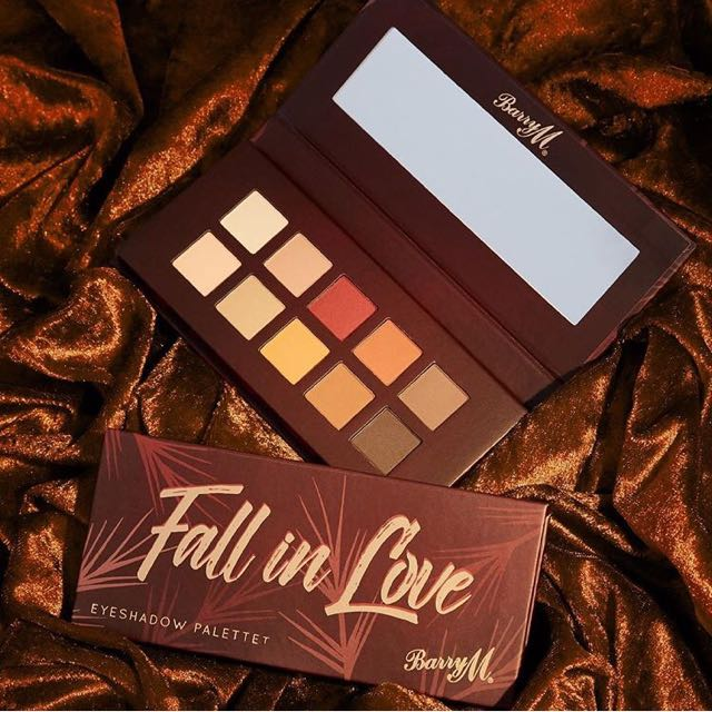 BN Authentic Barry M Fall In Love Eyeshadow Palette