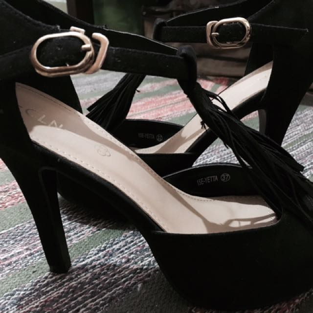 Boho high heels