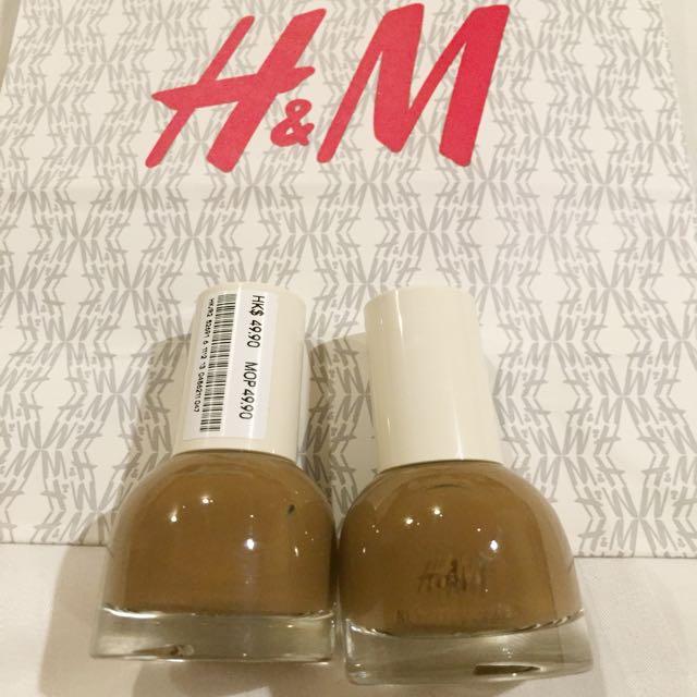 Brand New Auth H&M Nail Polish