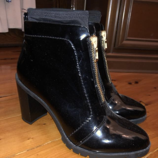 Brand New Next patent leather boots 39
