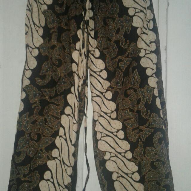Celana Kulot Batik Tebal