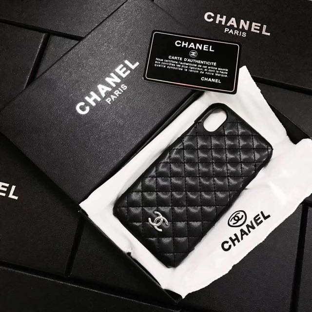 check out 31b8f d0598 Chanel iPhone X case, Mobile Phones & Tablets, Mobile & Tablet ...