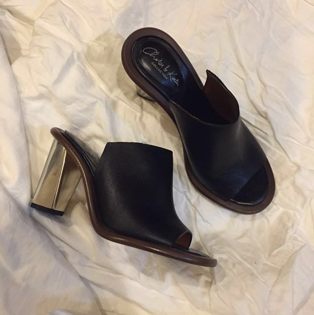 Charles and Keith mules - 35