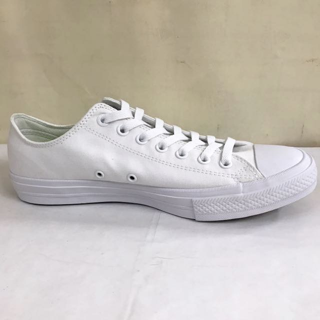 390b89c4615b CONVERSE CHUCK TAYLOR II LOW CUT WHITE (with Lunarlon Insole)