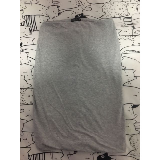 Cotton On pencil skirt grey casual going out wear
