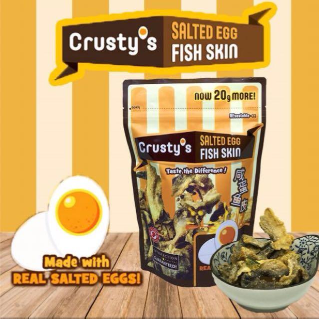 Crusty's Fish Skin