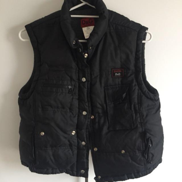 D&G Vintage Padded Vest