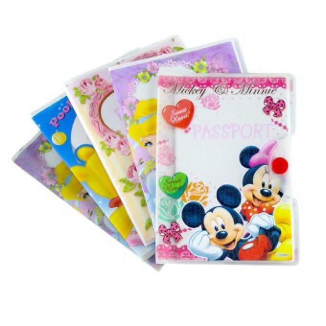 Disney Character Passport Holder