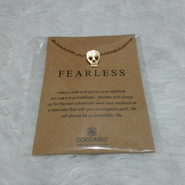 Dogeared Meaning Necklace In Fearless