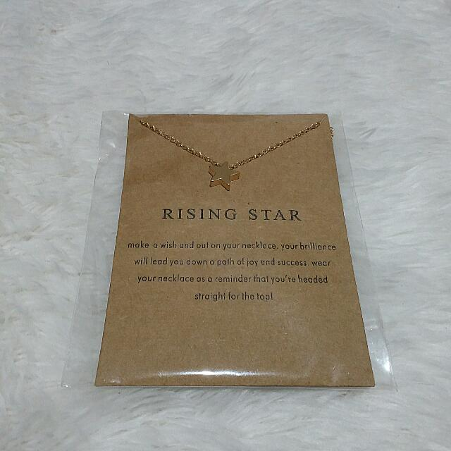 Dogeared Meanungful Necklace In Rising Star