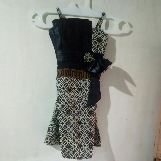 Dress batik 3-4th