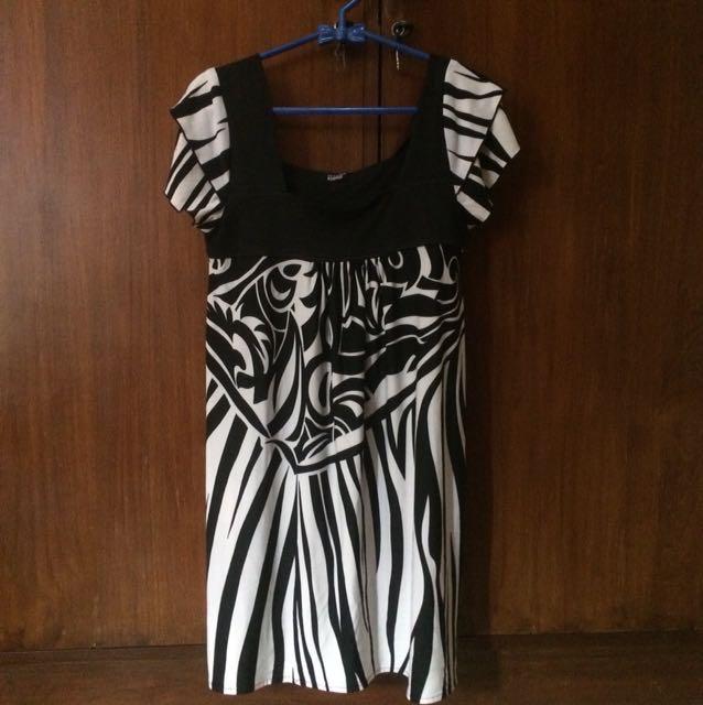 Dress Motif Zebra