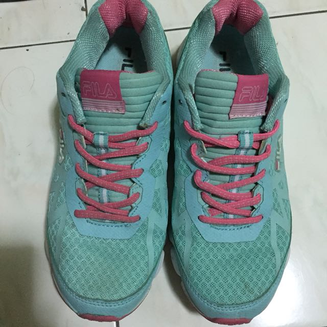 Fila Aqua Pink Rubber Shoes