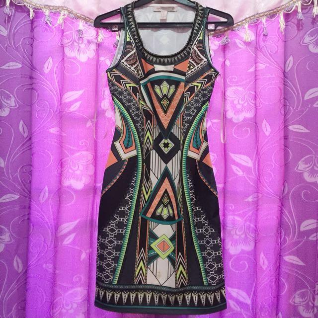 Forever21 tribal dress