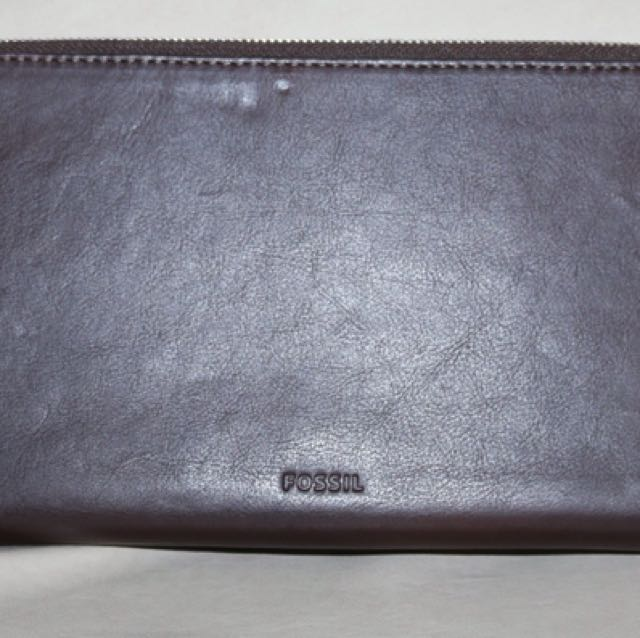 Fossil travelling wallet 100% auth