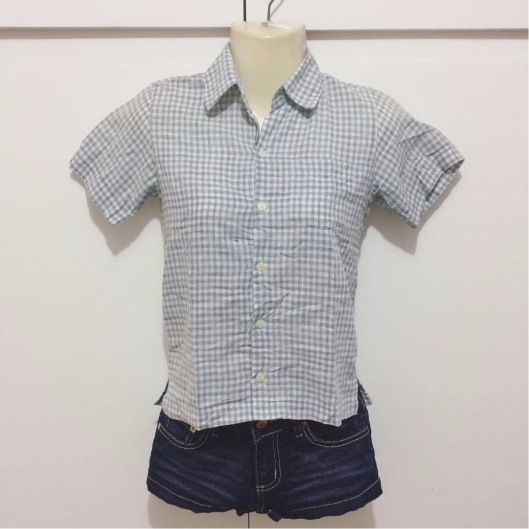 Freego Checkered Polo