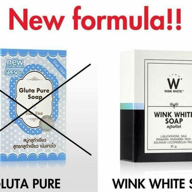 Gluta wink soap