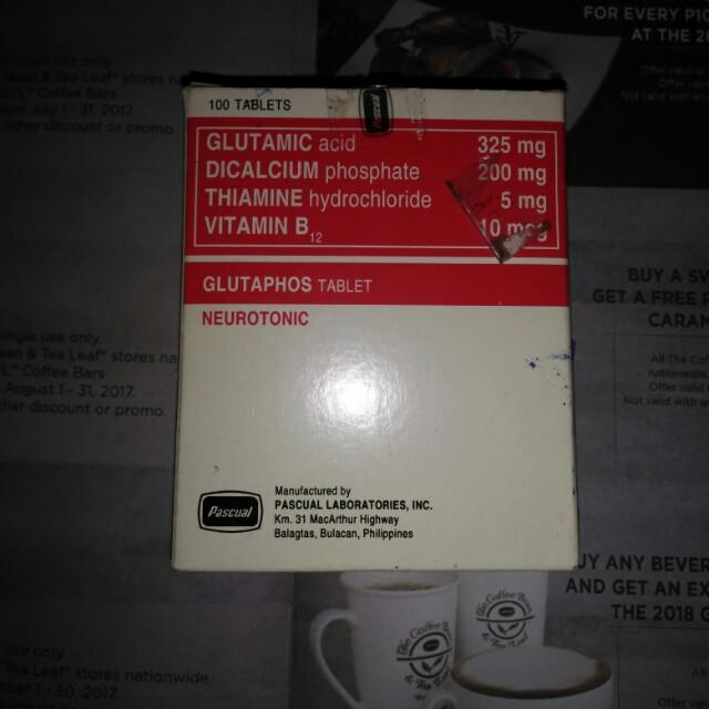 glutaphos brain vitamins