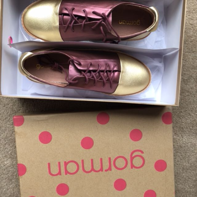 GORMAN shoes sz 37 Brand New in Box