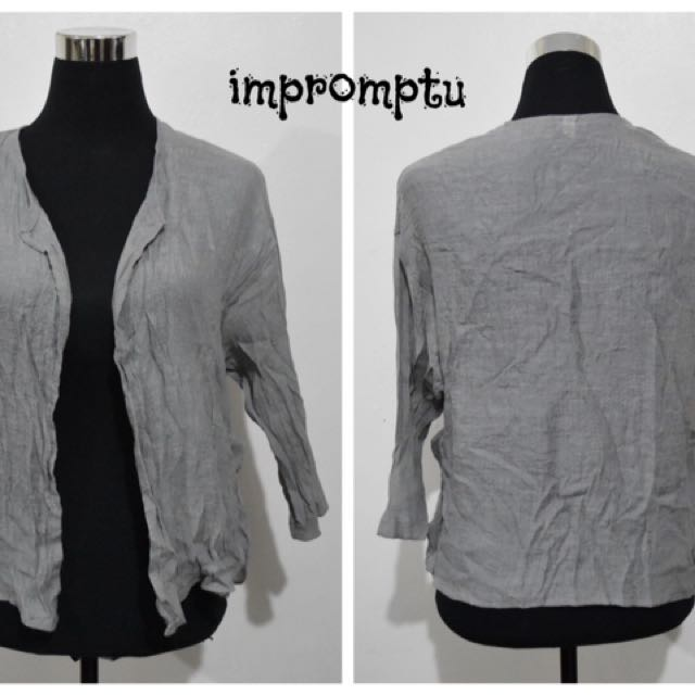 Gray Cover Up