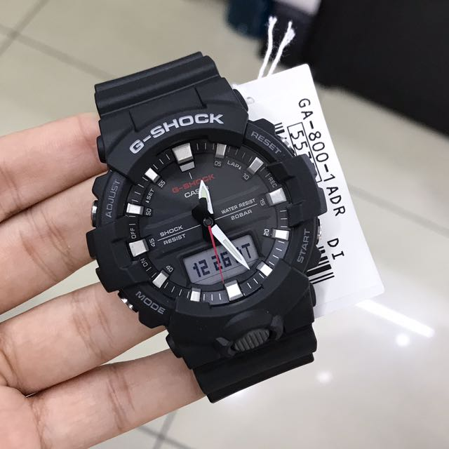 release date: 25601 fdd1e G-shock GA-800-1ADR, Men's Fashion, Watches on Carousell