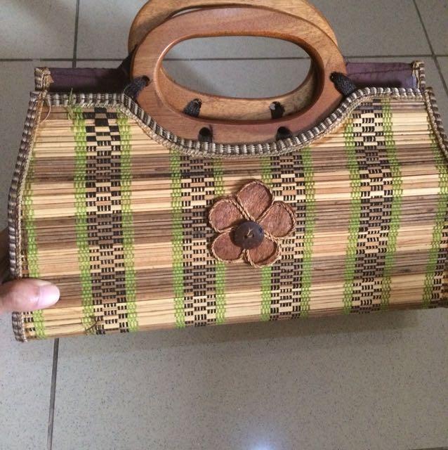 Handmade rotan bag