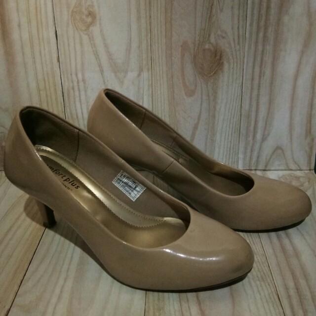 heels comfortplus nude