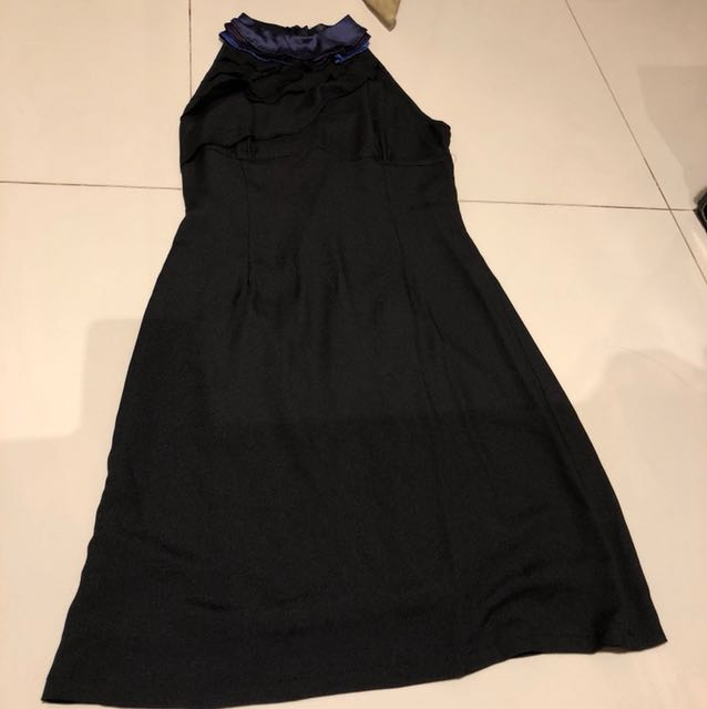 Helter neck dress