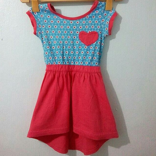 Hi-Low Dress for Toddler Girls, 2T