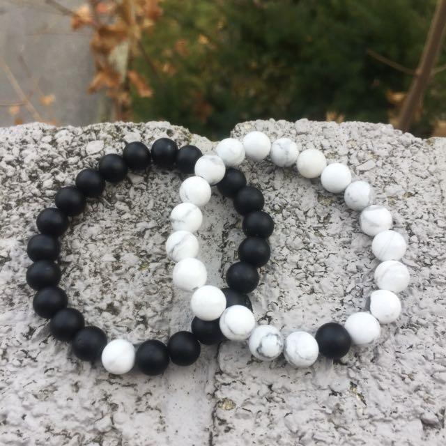 His & Hers Couple Bracelet Set