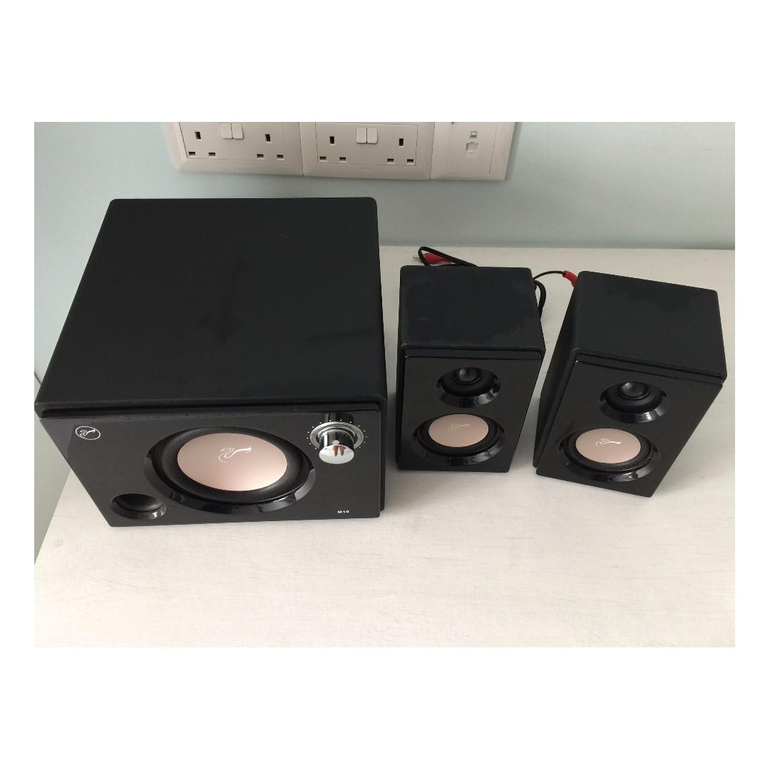 Swans Hivi M50w High End 21 Active Desktop Speakers Beli Harga Murah Multimedia Speaker Jual Swan Masterpiece Promo Price Termurah