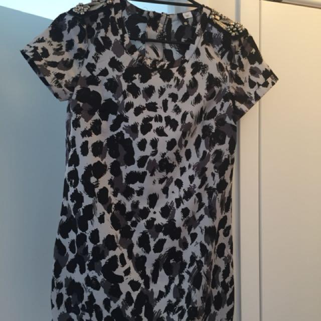 H&M Animal Print Dress