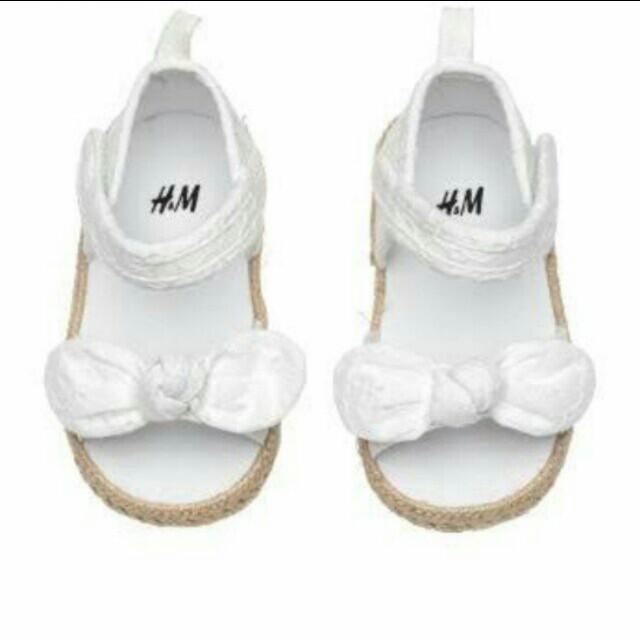 H&M bow sandals