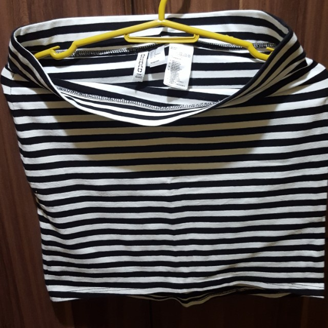 H&M Mini Skirt Stripes