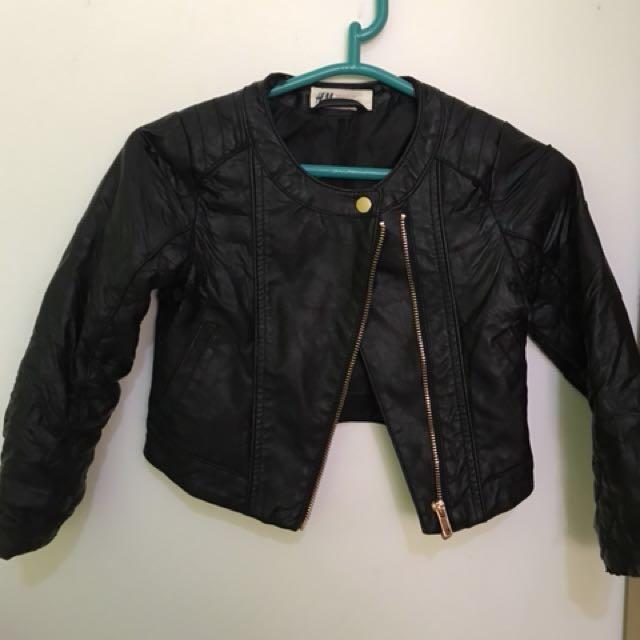 HnM Biker Leather Jacket