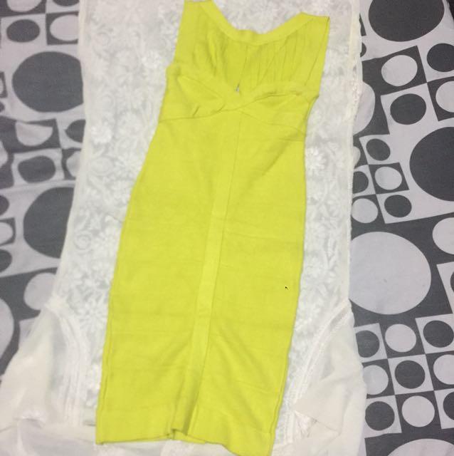HQ bandage dress (herve ins)