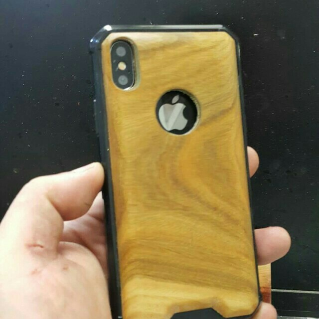 I PHONE X WOOD AROMA CASES