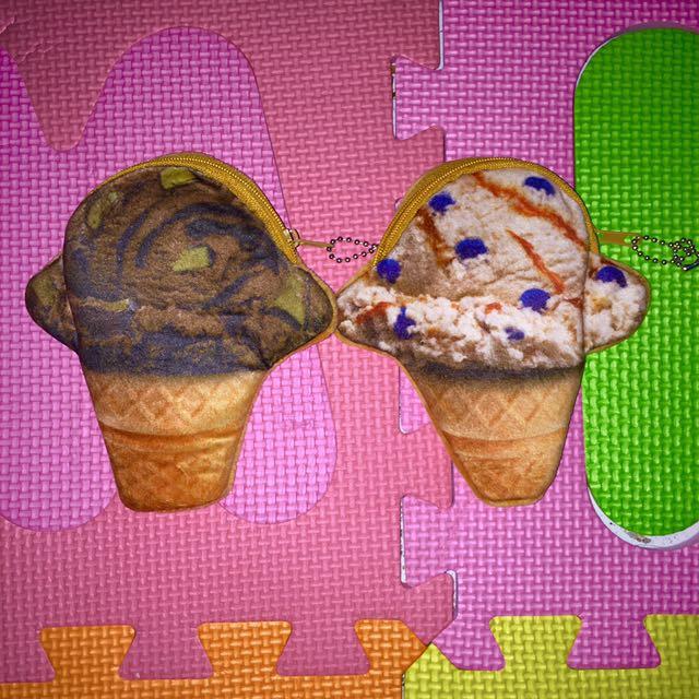 Ice cream Coin purse