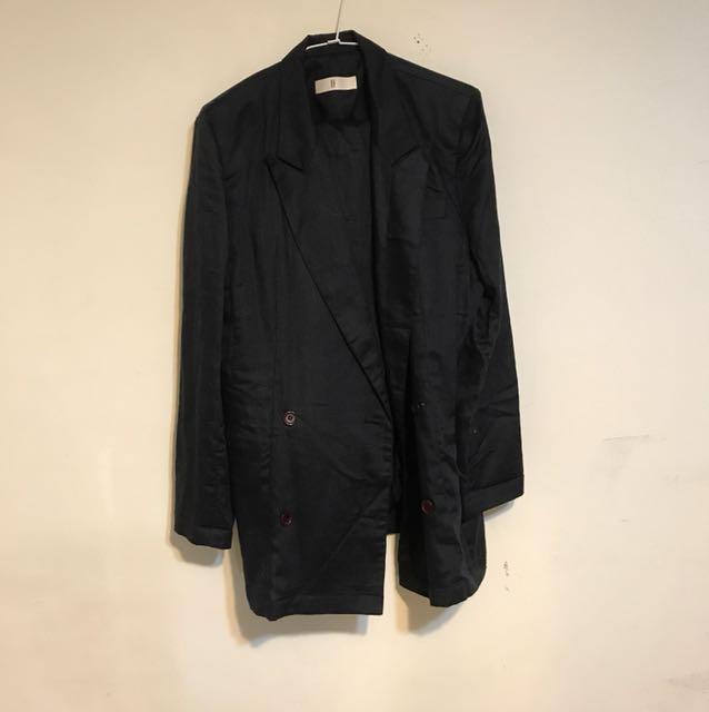 IF 古著 西裝外套+西裝褲 38號 (M)含運